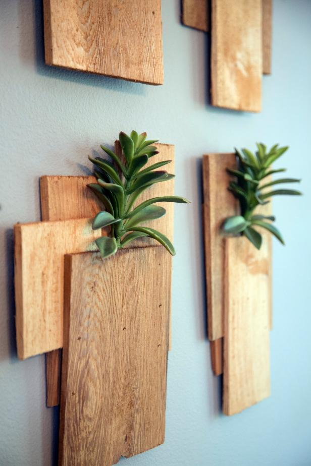 Succulent Planters for Your Blank Wall