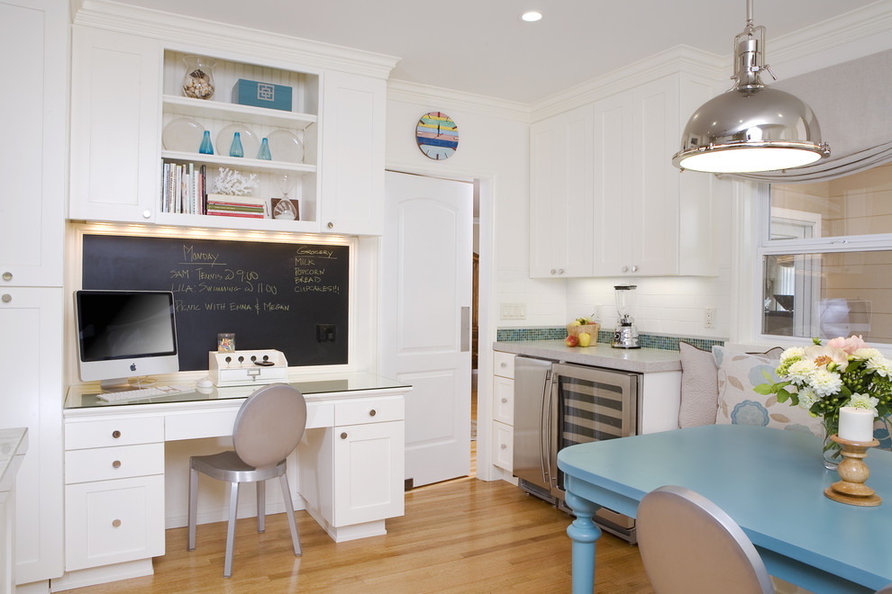 Best 25+ Kitchen Desk #DIY #HomeDecorIdeas