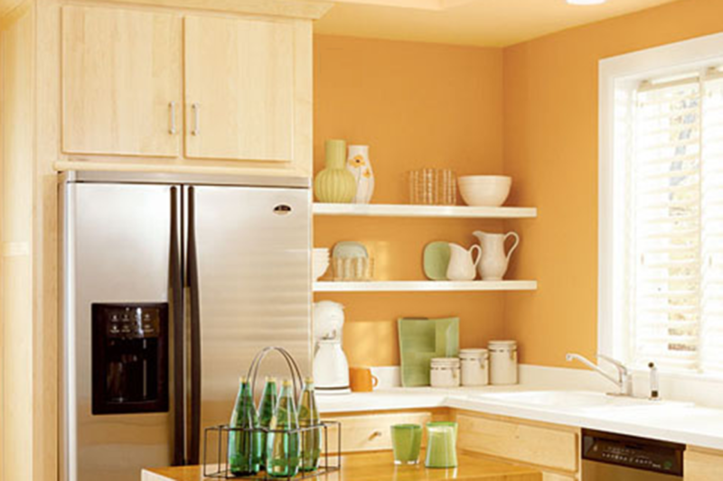 Small Kitchen Remodel Ideas, Keep the kitchen light