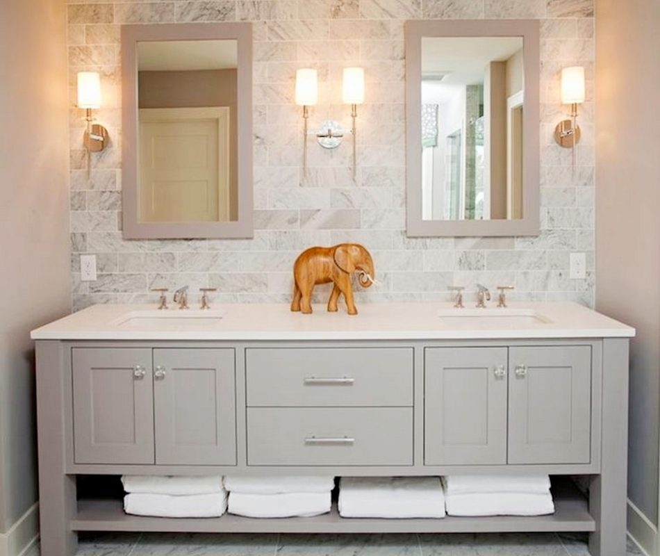 24 Double Bathroom Vanity