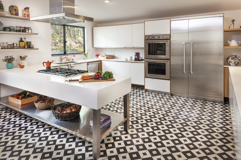 21 Flooring Small Kitchen Design