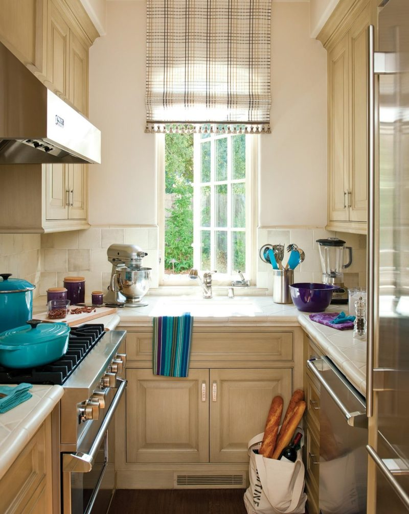 Opt for a smaller sink for your kitchen
