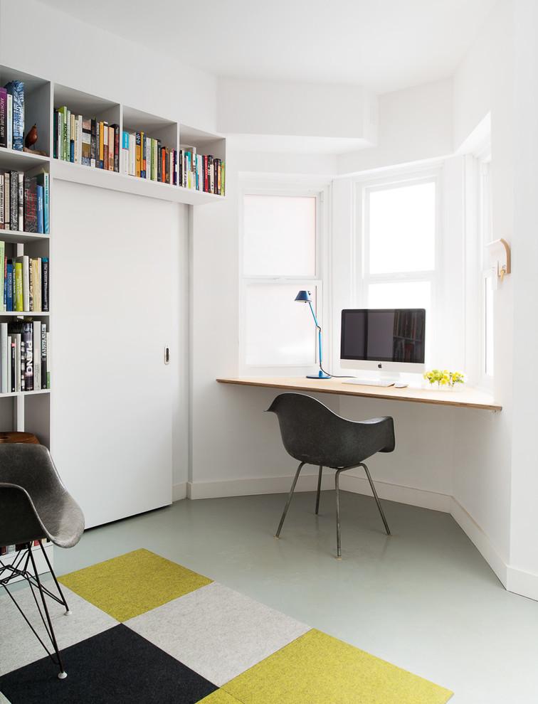27 Floating corner desk for your home