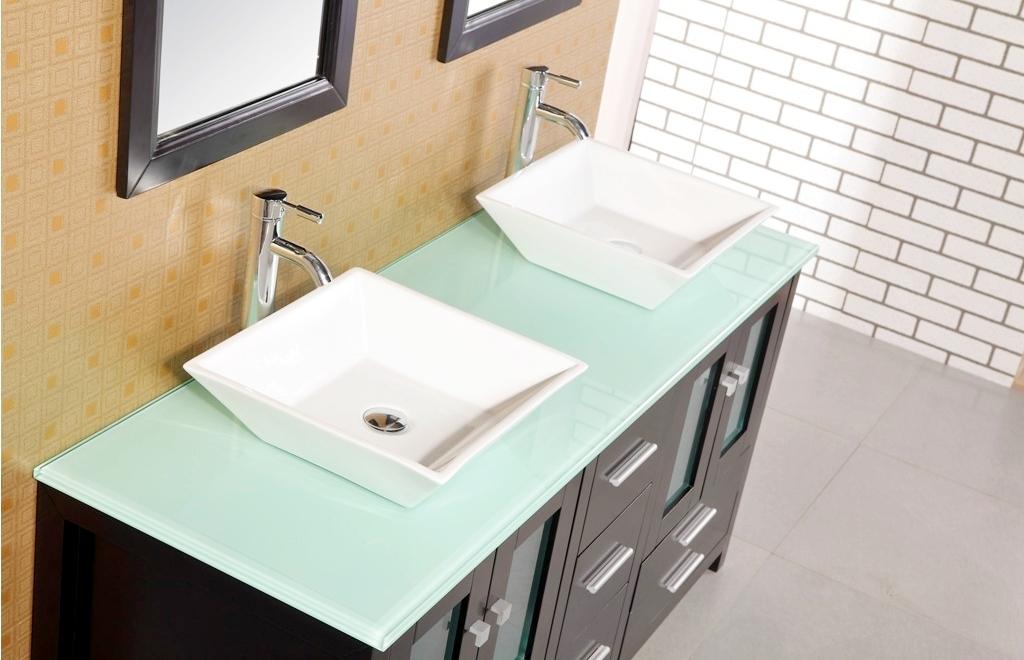 Rustic Vanities - The Vintage Double Bathroom