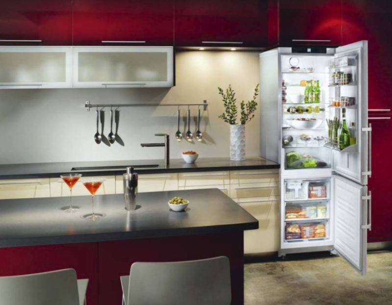 27 Slim fridge small kitchen ideas