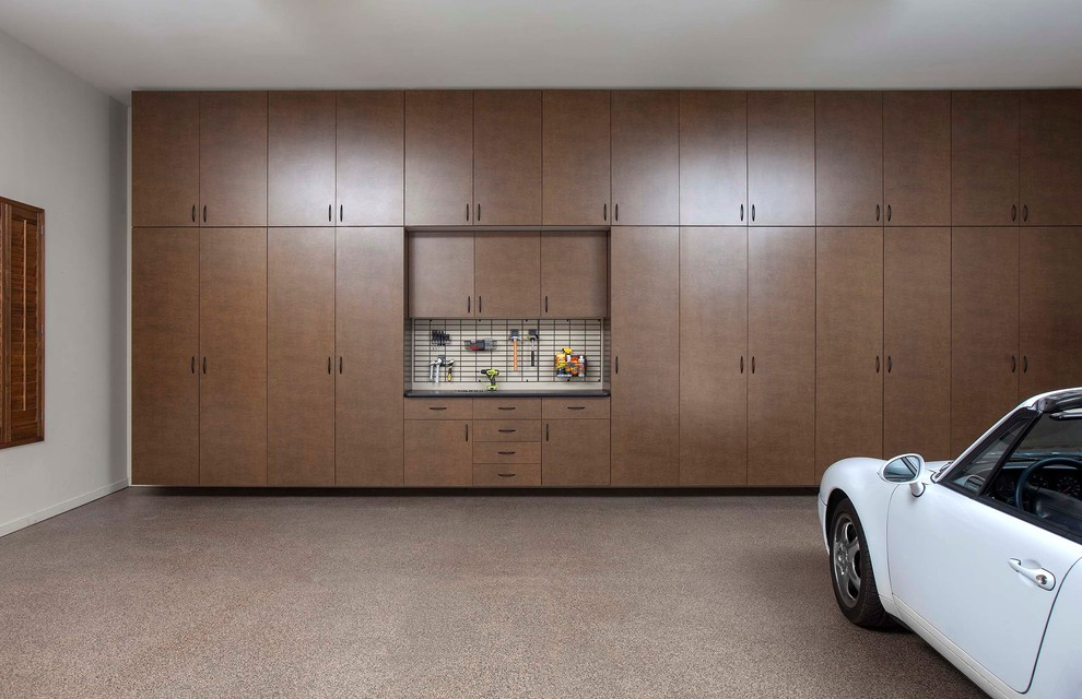 Constructed of Cabinetry for Garage