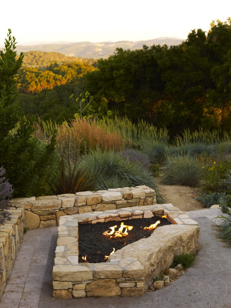 57 Inspiring Fire Pit Patio Projects #backyard #ideas