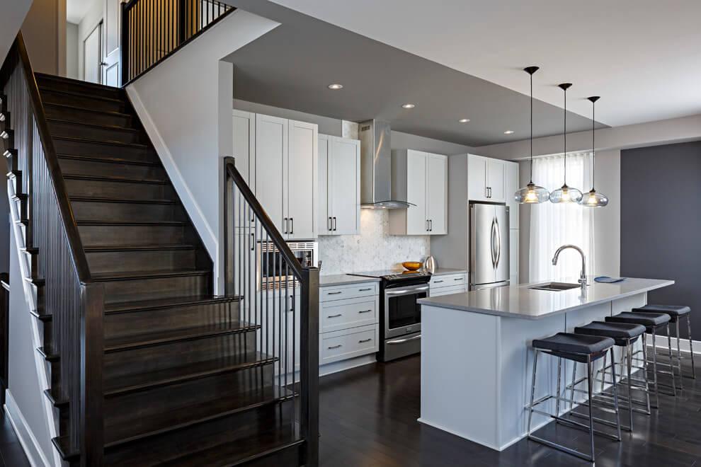 Two-tone paint - Claridge Homes