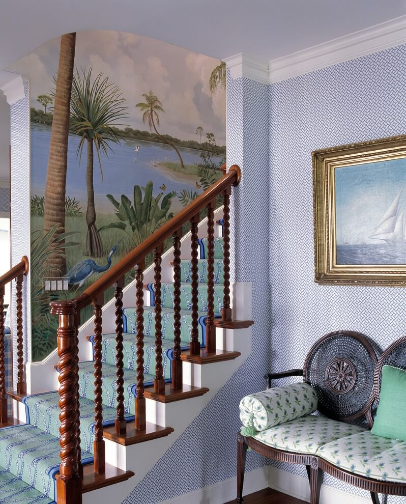 Beach Inspired Staircase